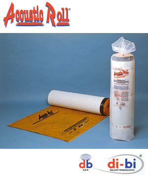 SBS polymer thermal insulation felt Acoustic Roll® by FORTLAN - DIBI