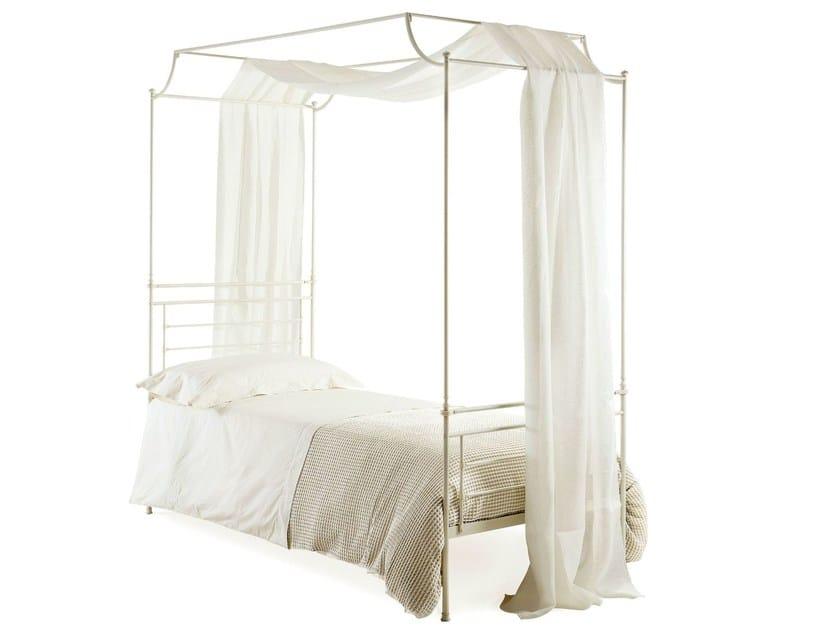 Iron single bed CIRO | Canopy bed - Cantori