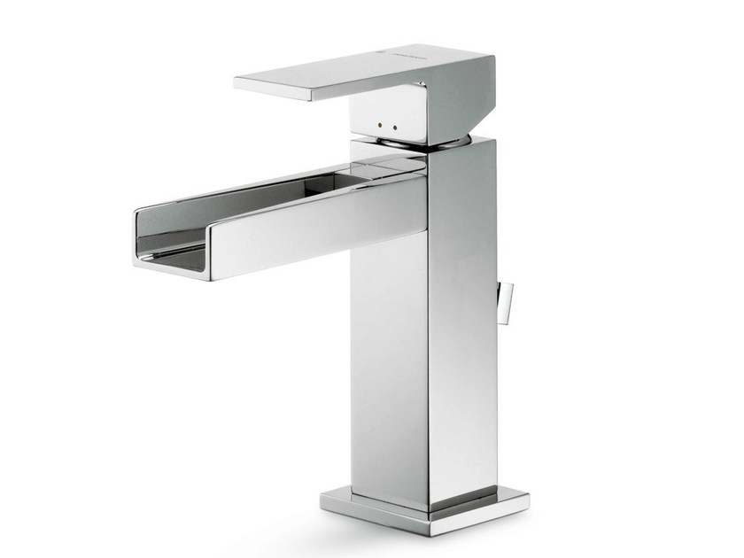 Countertop single handle 1 hole washbasin mixer ERGO OPEN | 1 hole washbasin mixer - NEWFORM