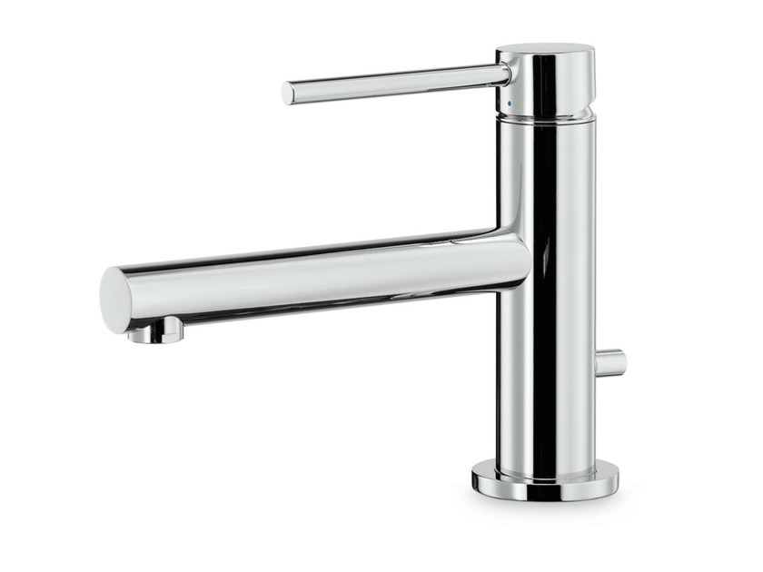 Countertop single handle 1 hole washbasin mixer MINI-X | Countertop washbasin mixer - NEWFORM