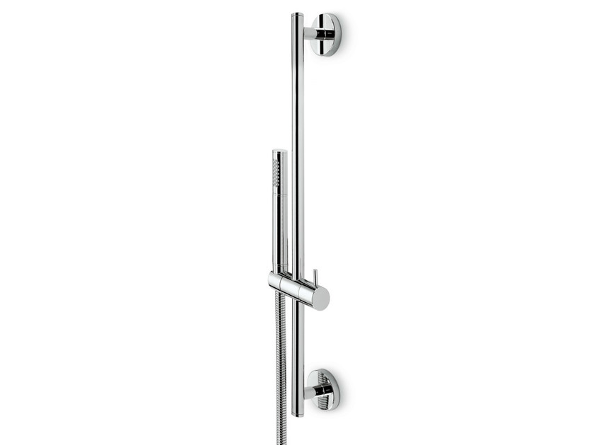 Shower wallbar with hand shower with hose MINI-X | Shower wallbar - NEWFORM