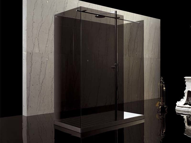 2 places free standing shower cabin FILODOCCIA | Free standing shower cabin - MEGIUS