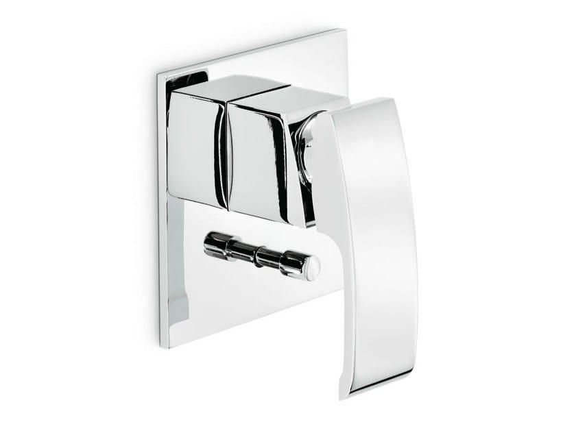 Wall-mounted single handle 1 hole bathtub mixer X-SENSE | Wall-mounted bathtub mixer - NEWFORM