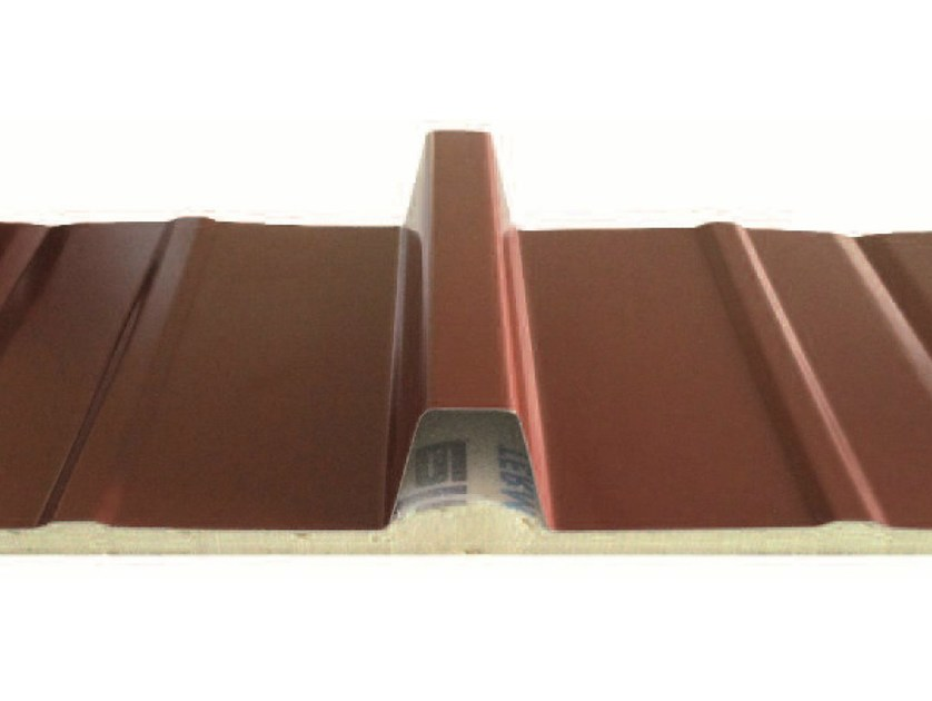 Insulated metal panel for roof TERMOCOPERTURE® SLIM by ELCOM SYSTEM