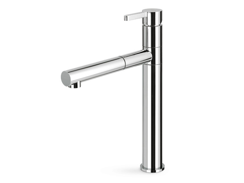 Kitchen mixer tap with swivel spout with pull out spray ERGO KITCHEN | Kitchen mixer tap with pull out spray - NEWFORM
