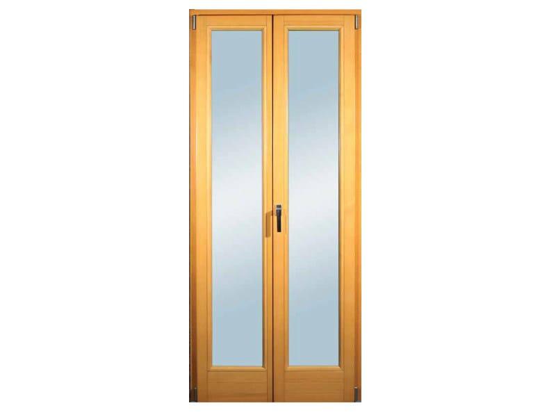 Porta finestra in legno lamellare clima 92 pavanello - Pavanello mobili ...