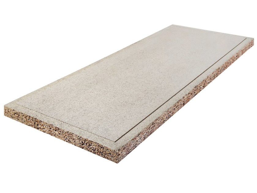 Cement-bonded wood fiber thermal insulation panel THERALITH™ BM-W - KNAUF INSULATION - Chivasso