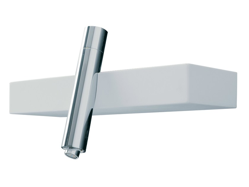 Wall-mounted single handle bidet mixer BLOK | Bidet mixer by Rubinetterie 3M
