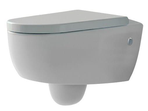 Wall-hung toilet BLOK | Toilet - Rubinetterie 3M
