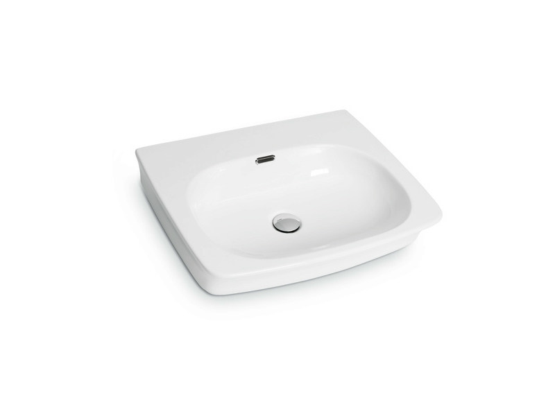 Countertop rectangular wall-mounted washbasin WASHBASINS | Rectangular washbasin - NEWFORM