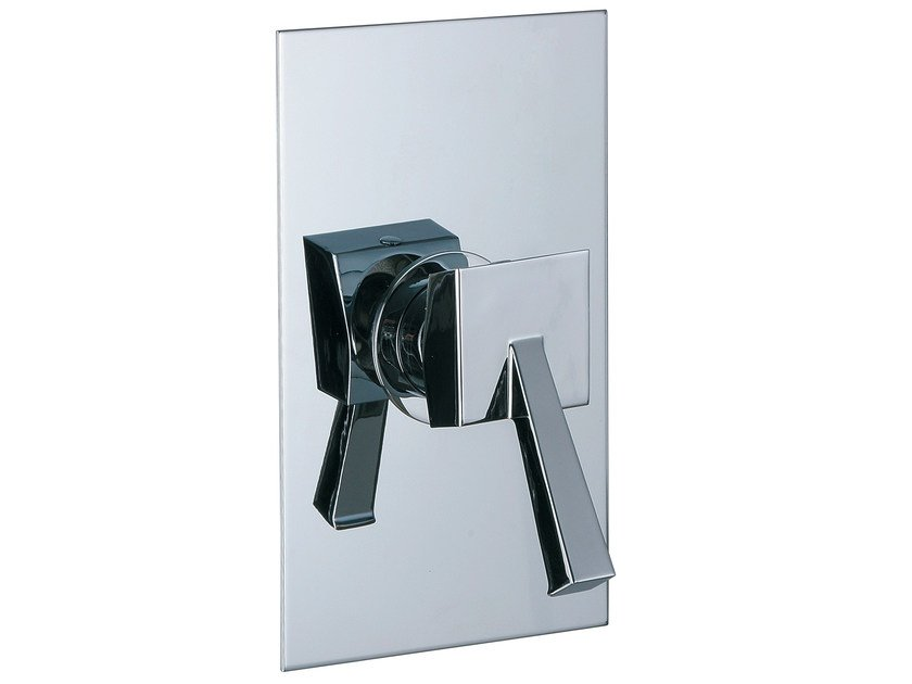 Single handle shower mixer with plate BRIDGE_MONO | Single handle shower mixer - Rubinetterie 3M