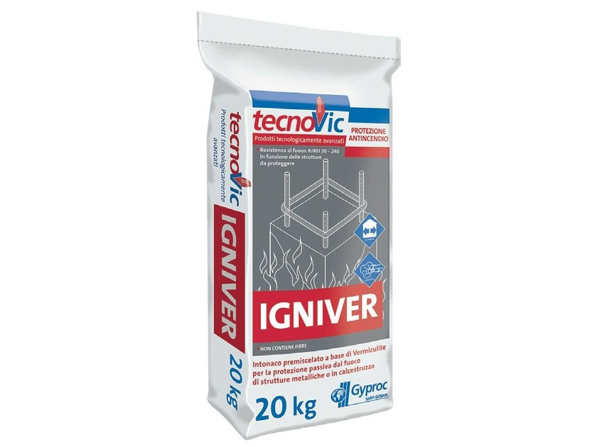 Fire-resistant plaster IGNIVER - Saint-Gobain Gyproc