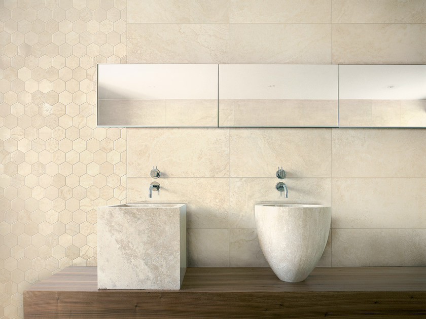 Ecological wall tiles ECO_ALABASTER   Wall tiles by Ceramica Fioranese