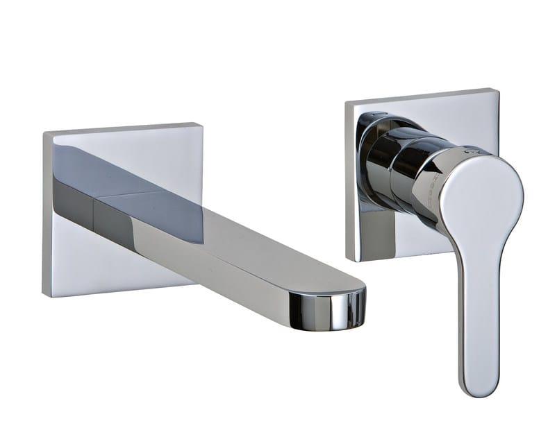 2 hole wall-mounted washbasin mixer KLAB | Wall-mounted washbasin mixer - Rubinetterie 3M