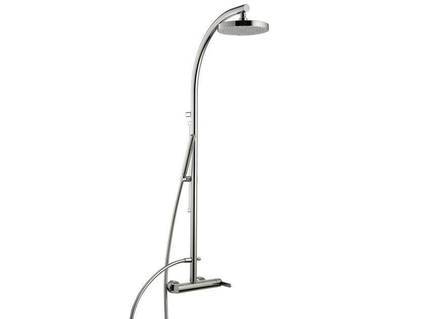Shower panel with overhead shower KLAB | Shower panel - Rubinetterie 3M