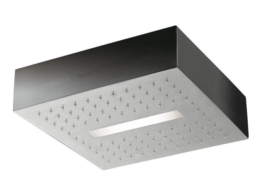 LED overhead shower for chromotherapy LIGHT | Ceiling mounted overhead shower - Rubinetterie 3M