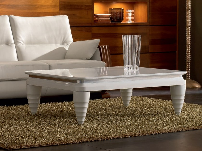 Low rectangular coffee table ELETTRA DAY | Rectangular coffee table by Cantiero