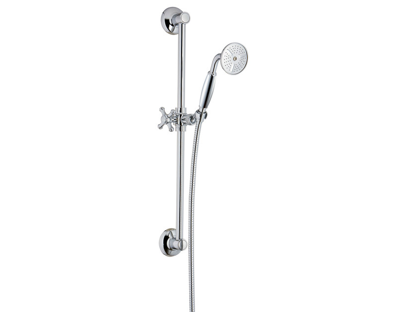 Shower wallbar with hand shower OLD ITALY | Shower wallbar - Rubinetterie 3M