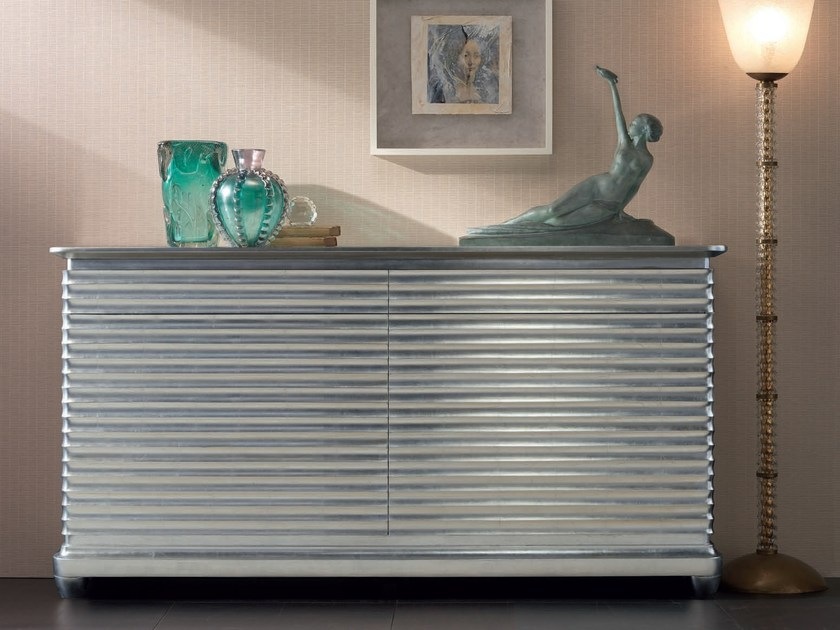 Lacquered solid wood sideboard with doors with drawers ELETTRA DAY | Sideboard with drawers - Cantiero