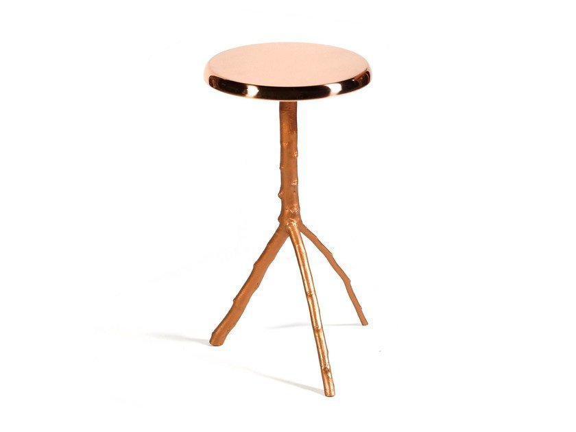 Round metal coffee table for living room EMBRACE   Coffee table - Ginger & Jagger