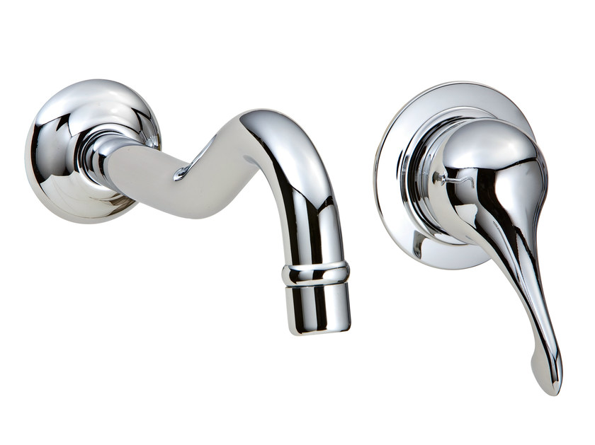 2 hole wall-mounted washbasin mixer PICCADILLY | Wall-mounted washbasin mixer - Rubinetterie 3M