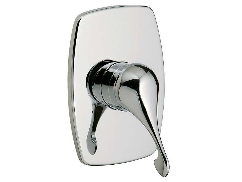 Single handle shower mixer with plate PICCADILLY | Single handle shower mixer - Rubinetterie 3M