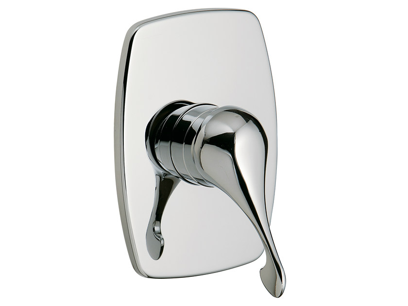 Single handle shower mixer with plate PICCADILLY | Single handle shower mixer by Rubinetterie 3M