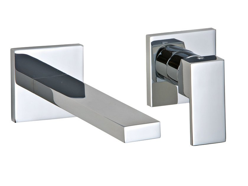 2 hole wall-mounted washbasin mixer Q | Wall-mounted washbasin mixer by Rubinetterie 3M