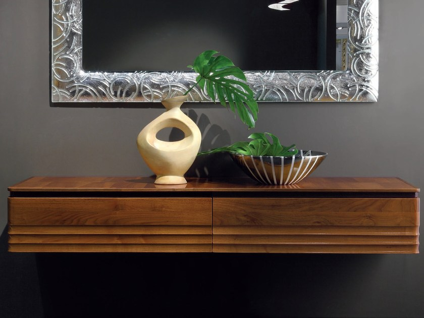 Suspended solid wood sideboard ELETTRA DAY | Sideboard - Cantiero