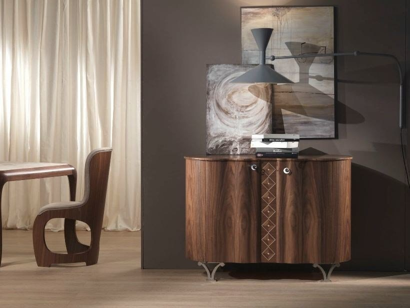 Wooden sideboard with doors MISTRAL | Sideboard - Carpanelli Contemporary