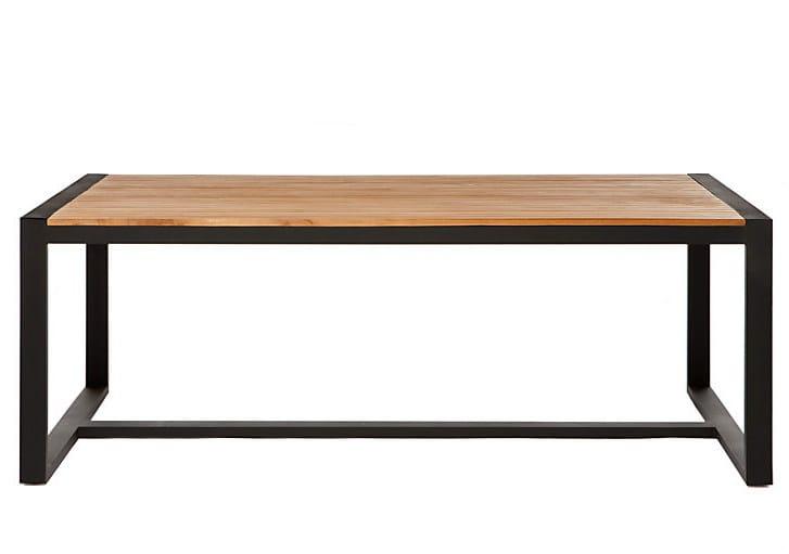 Rectangular garden table OTTO | Garden table - Il Giardino di Legno