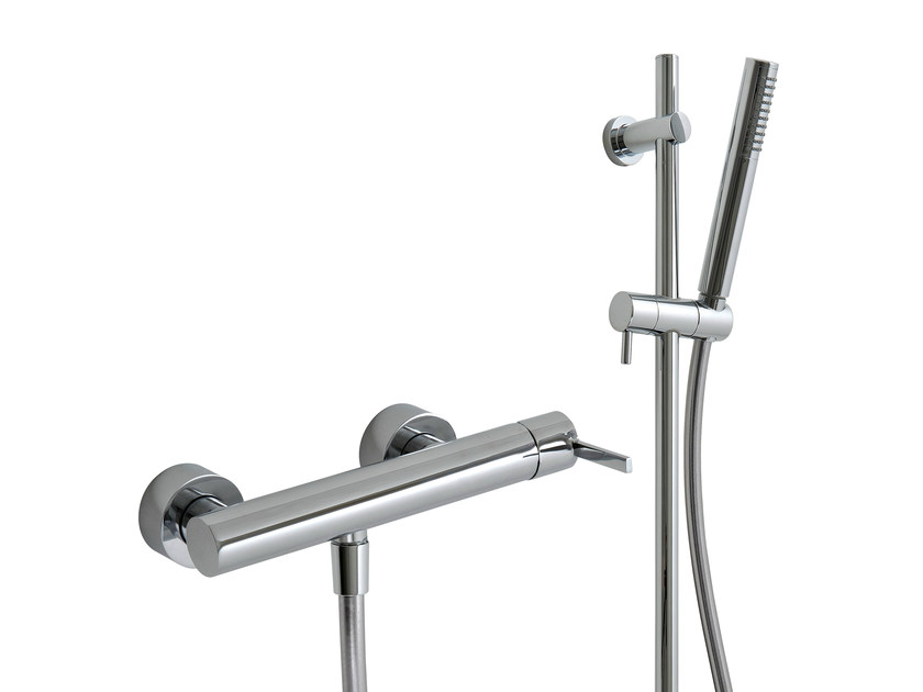 2 hole shower mixer with hand shower TIME_OUT | Shower mixer with hand shower - Rubinetterie 3M