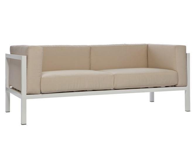 Aluminium garden sofa LEI | Garden sofa - Il Giardino di Legno