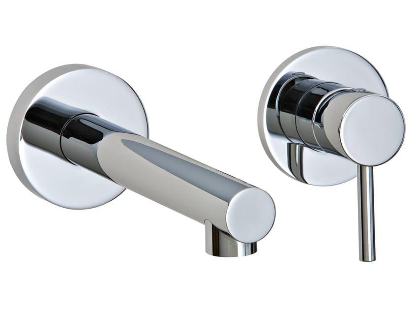2 hole wall-mounted washbasin mixer VELA | Wall-mounted washbasin mixer - Rubinetterie 3M