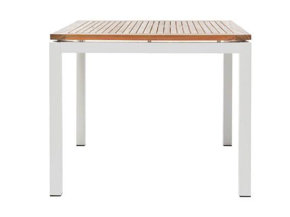 Square garden table LEI   Square garden table - Il Giardino di Legno