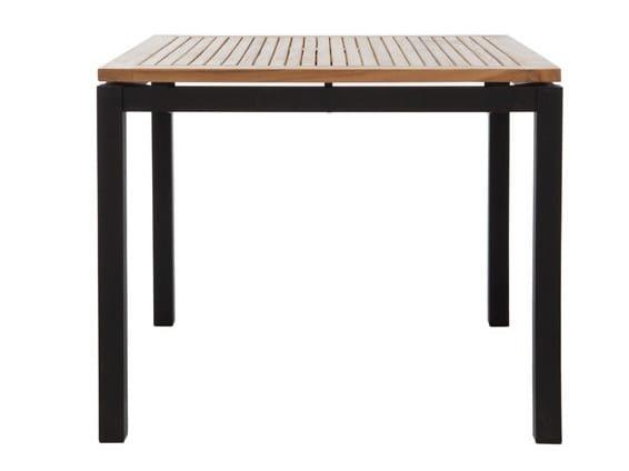 Square garden table LUI | Square garden table - Il Giardino di Legno