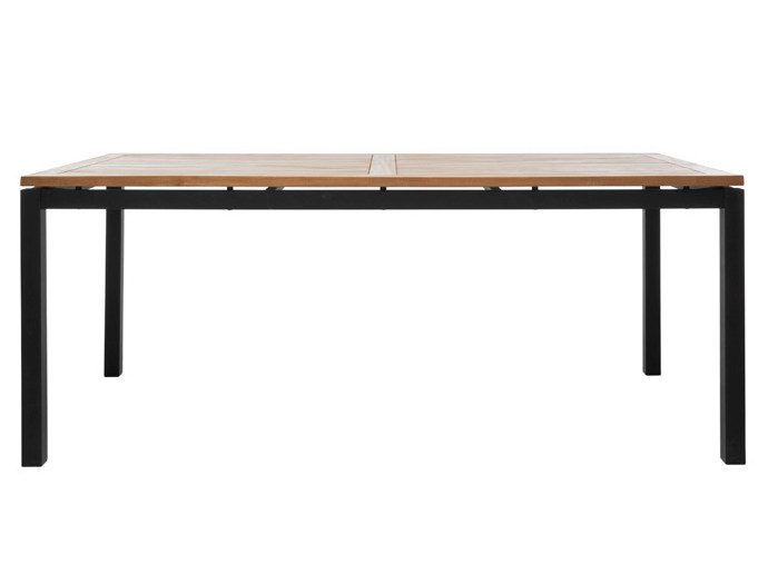 Rectangular garden table LUI | Rectangular garden table - Il Giardino di Legno