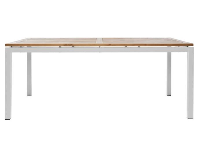 Rectangular garden table LEI | Rectangular garden table - Il Giardino di Legno