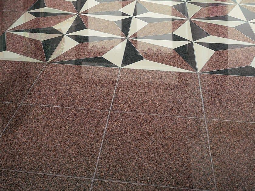 Pavimento in gres porcellanato effetto pietra granito for Pavimento gres effetto pietra
