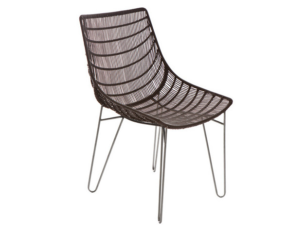 Steel garden chair INFINITY | Garden chair by Il Giardino di Legno