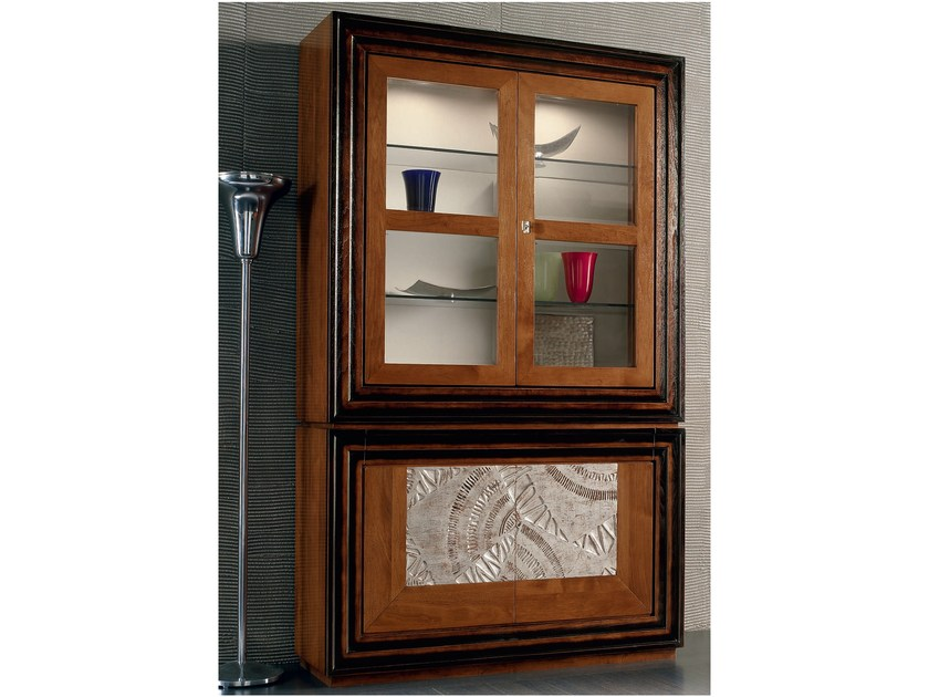 Silver leaf highboard with doors ÉTOILE DAY | Silver leaf highboard - Cantiero