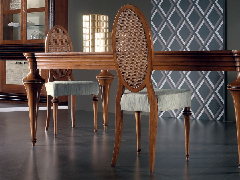 Medallion solid wood chair ÉTOILE DAY | Solid wood chair - Cantiero