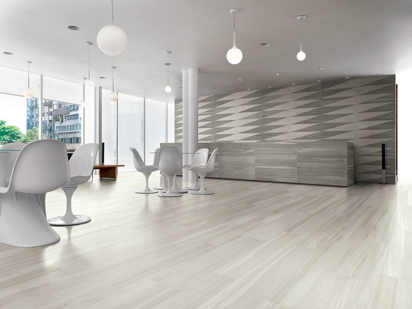 Porcelain stoneware wall tiles with wood effect SIGNUM | Wall tiles - Ceramiche Coem