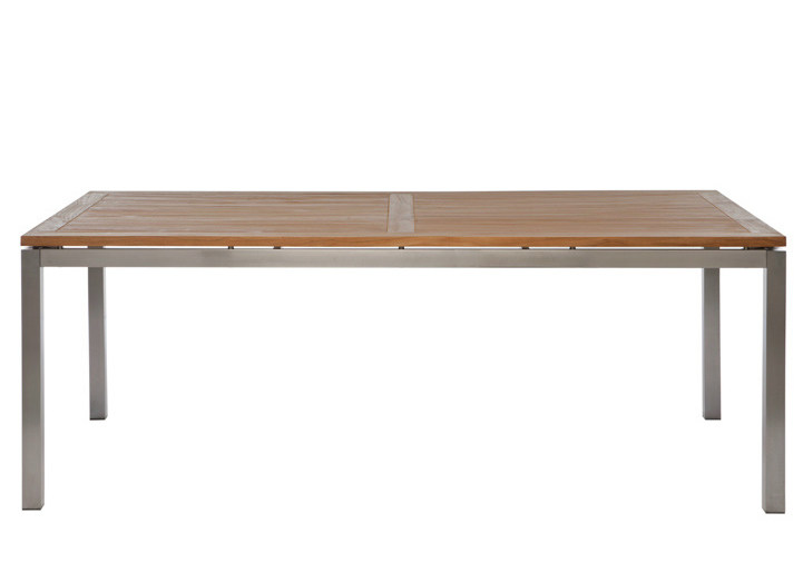 Rectangular garden table LUNAR | Rectangular garden table - Il Giardino di Legno
