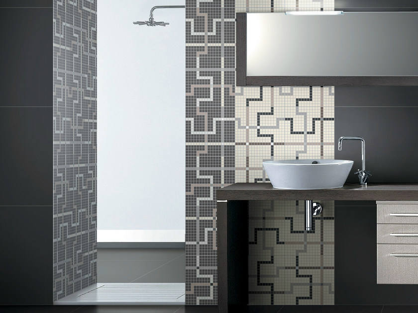 Porcelain stoneware Mosaic T.U. | Mosaic - Ceramiche Coem
