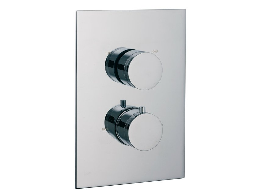 2 hole thermostatic shower mixer with diverter X-CHANGE | Thermostatic shower mixer with diverter - Rubinetterie 3M