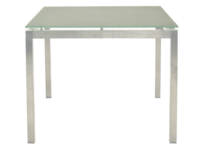 Square garden table CRYSTAL | Square garden table by Il Giardino di Legno