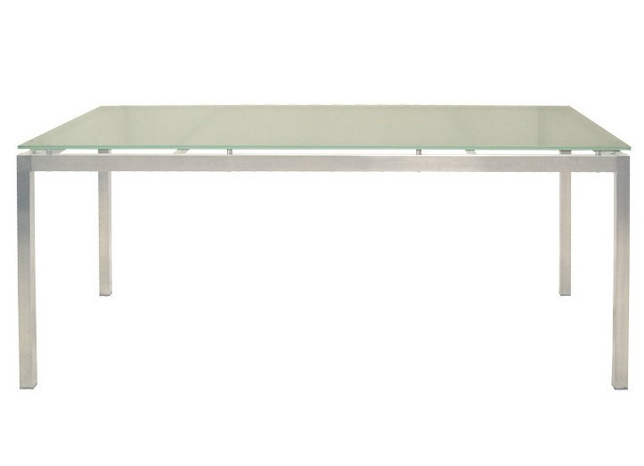 Rectangular garden table CRYSTAL | Rectangular garden table - Il Giardino di Legno