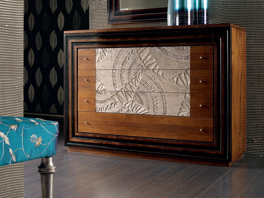 Wooden dresser ÉTOILE NIGHT | Solid wood dresser - Cantiero