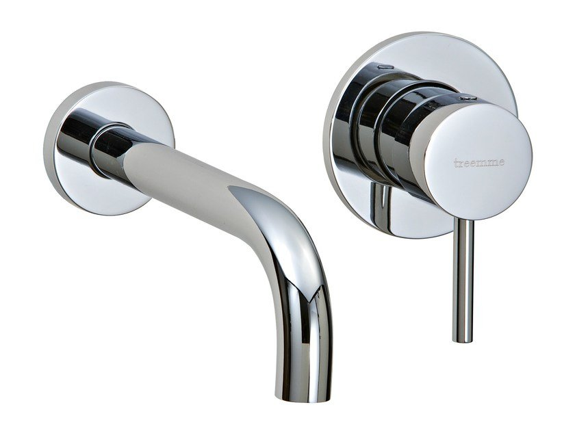 2 hole wall-mounted washbasin mixer X-CHANGE_MONO | 2 hole washbasin mixer by Rubinetterie 3M